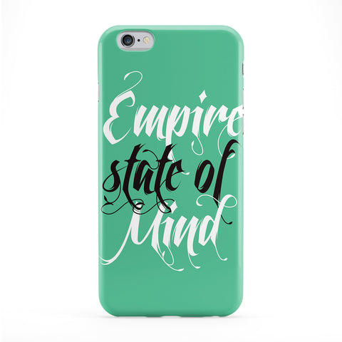 Empire State of Mind Full Wrap Protective Phone Case by textGuy