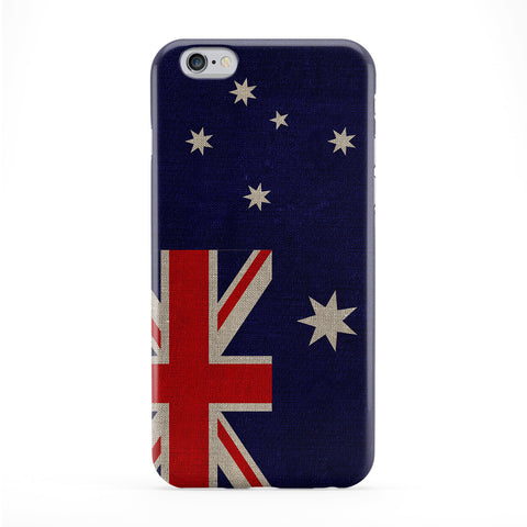 Canvas Flag of Australia - Australian Flag Full Wrap Protective Phone Case by UltraFlags