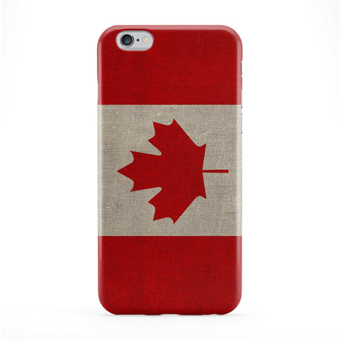 Canvas Flag of Canada - Canadian Flag Phone Case by UltraFlags