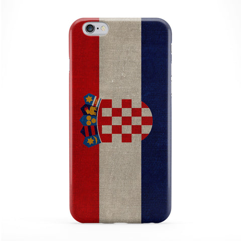 Canvas Flag of Croatia - Croatian Flag Full Wrap Protective Phone Case by UltraFlags