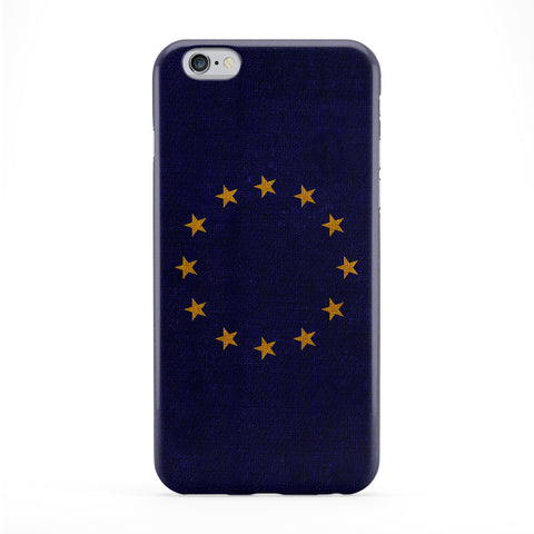 Canvas Flag of European Union - Europe - EU Flag Full Wrap Protective Phone Case by UltraFlags