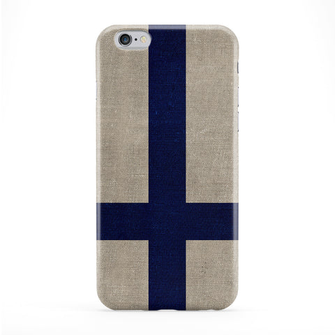 Canvas Flag of Finland - Finnish Flag - Suomen lippu - Finlands flagga Phone Case by UltraFlags
