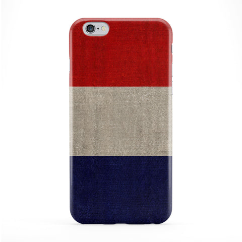 Canvas Flag of France - French Flag - French Tricolour Phone Case by UltraFlags