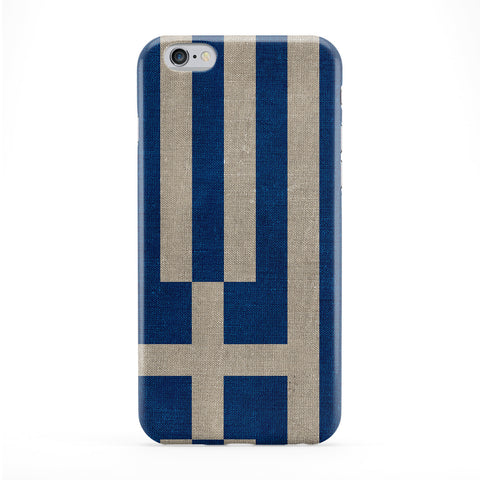 Canvas Flag of Greece - I Galanolefki Phone Case by UltraFlags