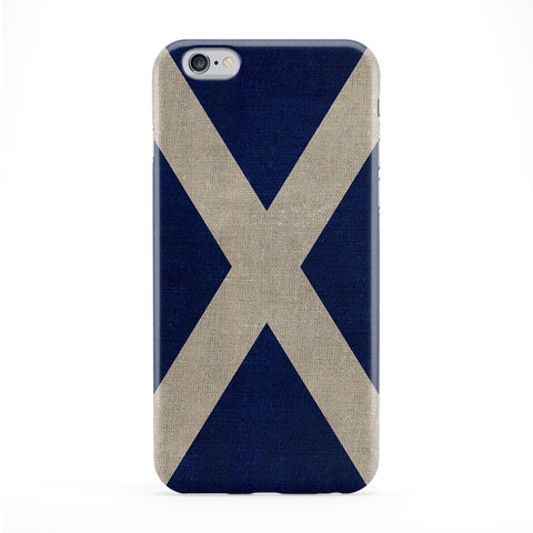 Canvas Flag of Scotland - Scottish Flag - Bratach na h-Alba - Banner o Scotland Phone Case by UltraFlags