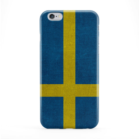 Canvas Flag of Sweden - Swedish Flag - Sveriges flagga Phone Case by UltraFlags