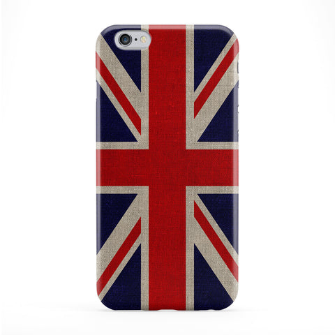 Canvas Flag of United Kingdom - UK Flag - Union Jack - Great Britain Flag Phone Case by UltraFlags