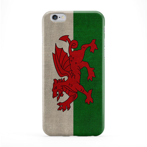 Canvas Flag of Wales Dragon - Welsh Baner Cymru - Y Ddraig Goch Phone Case by UltraFlags