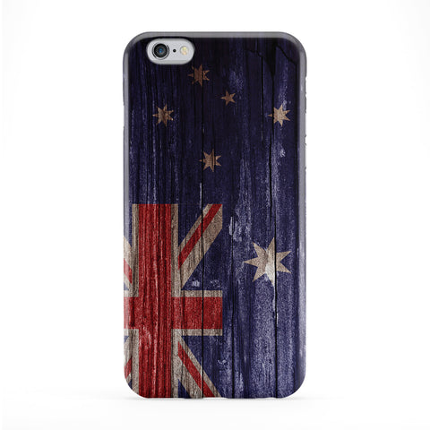 Vintage Wood Flag of Australia - Australian Flag Phone Case by UltraFlags