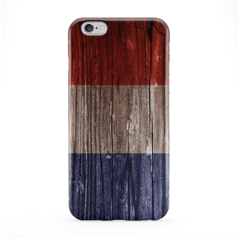 Vintage Wood Flag of France - French Flag - French Tricolour Phone Case by UltraFlags