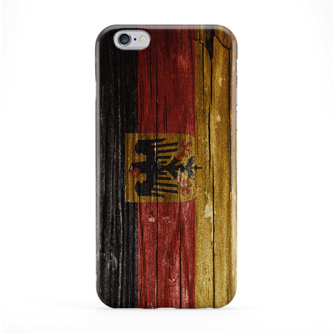 Vintage Wood Flag of Germany - German Flag - Deutsche Flagge - Deutschland Bundesflagge Phone Case by UltraFlags