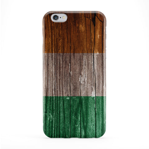 Vintage Wood Flag of Ireland - Irish Flag Phone Case by UltraFlags