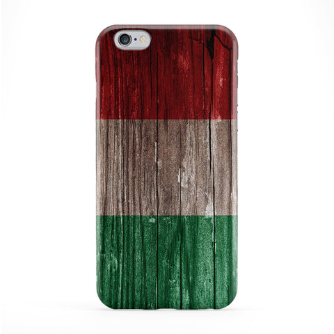 Vintage Wood Flag of Italy - Italian Flag - bandiera d'Italia Phone Case by UltraFlags