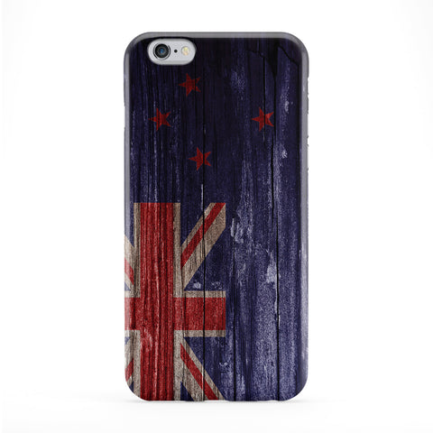 Vintage Wood Flag of New Zealand Phone Case by UltraFlags