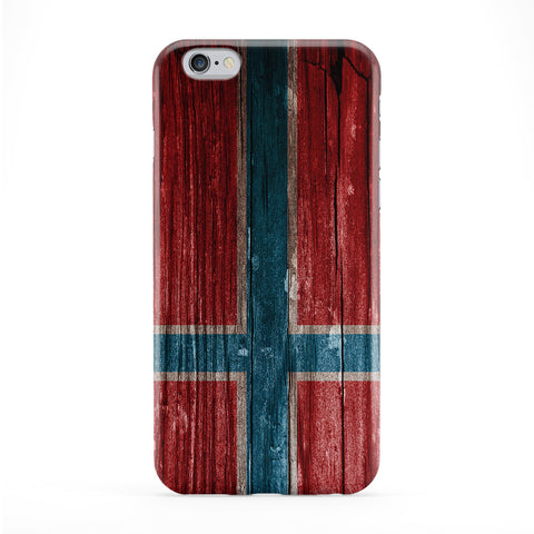 Vintage Wood Flag of Norway - Norwegian Flag Phone Case by UltraFlags