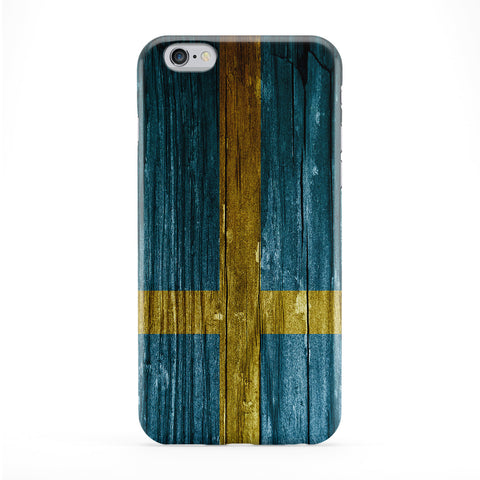 Vintage Wood Flag of Sweden - Swedish Flag - Sveriges flagga Phone Case by UltraFlags