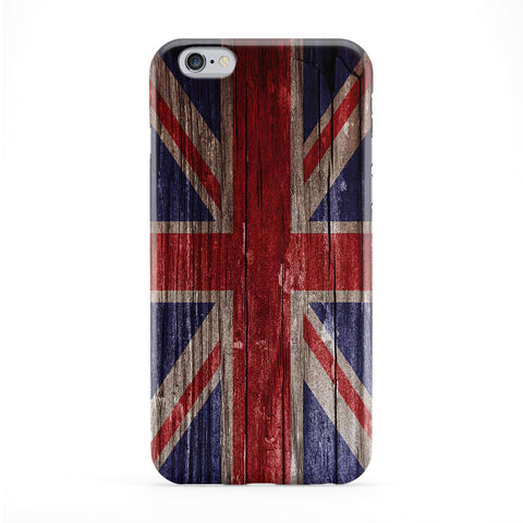 Vintage Wood Flag of United Kingdom - UK Flag - Union Jack - Great Britain Flag Phone Case by UltraFlags