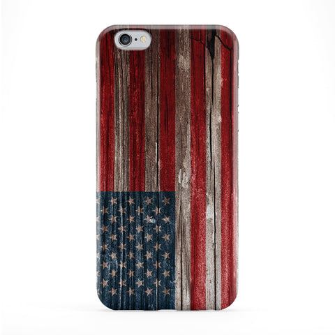 Vintage Wood Flag of United States - US Flag - American Flag - USA Flag Phone Case by UltraFlags