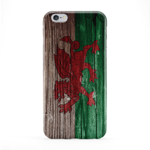 Vintage Wood Flag of Wales Dragon - Welsh Baner Cymru - Y Ddraig Goch Phone Case by UltraFlags