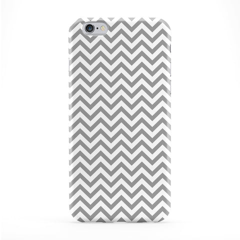 Light Grey Zig Zag Chevron Pattern Full Wrap Protective Phone Case by UltraCases