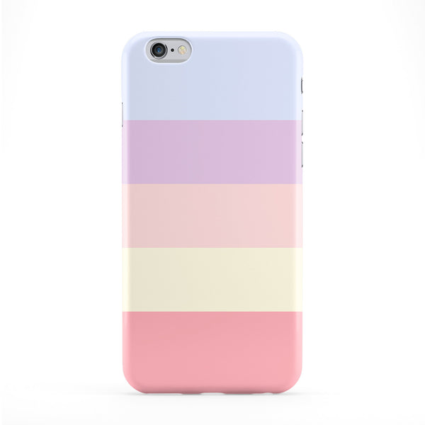 Light Pastel Color Stripes Full Wrap Protective Phone Case by UltraCases