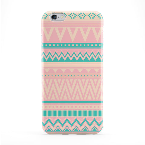 Pastel Turquoise And Pink Aztec Pattern Phone Case by UltraCases
