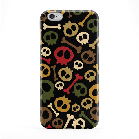 Skulls and Bones Army Style Colors Phone Case by UltraCases