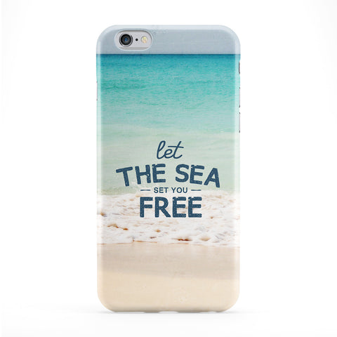 Let the sea Set You free Full Wrap Protective Phone Case by UltraCases