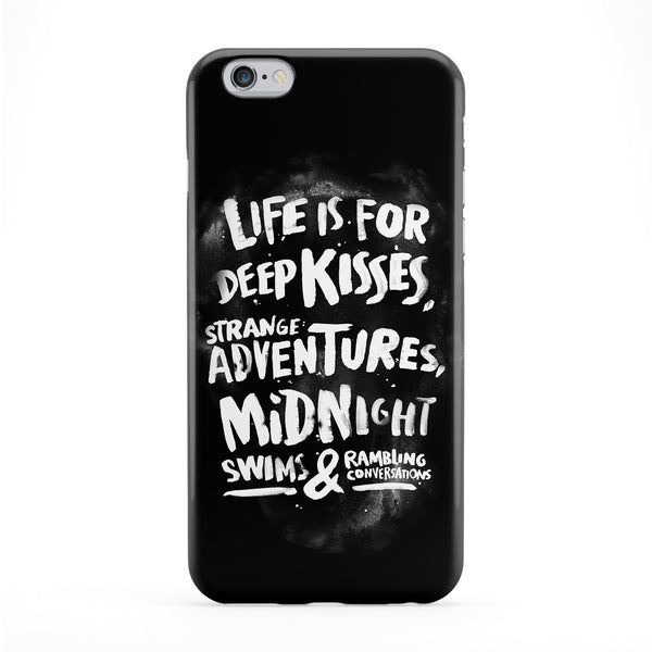 Life Is For Full Wrap Protective Phone Case by WeAreYawn