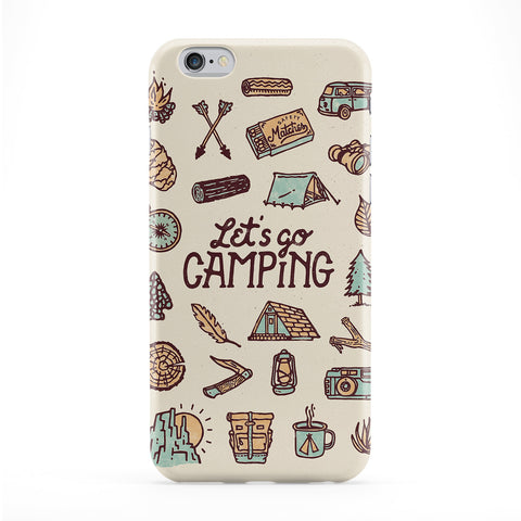 Let's Go Camping Case for iPhone 6 by WeAreYawn