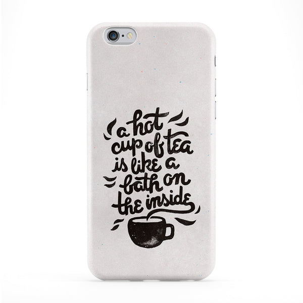 Hot Tea Full Wrap Protective Phone Case by WeAreYawn