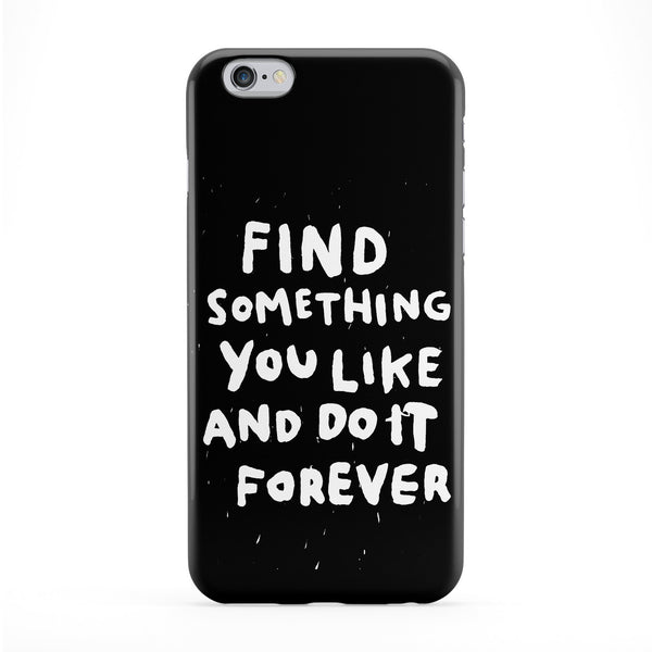 Find Something You Like Full Wrap Protective Phone Case by WeAreYawn