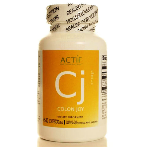 Actíf International® Colon Joy - 60 Veggie Capsules - Patented Formula