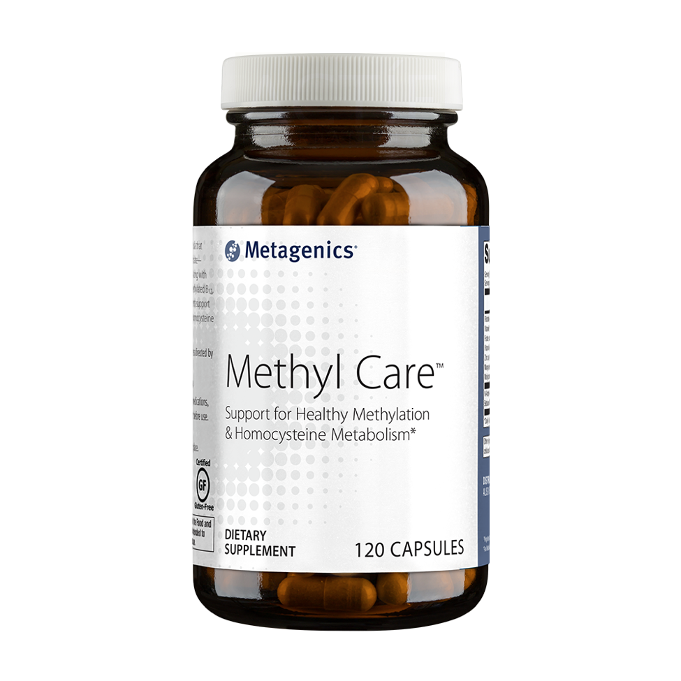 Metagenics Methyl Care (120 Capsules) - Formerly Vessel Care