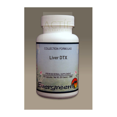 Evergreen Liver DTX 100 caps