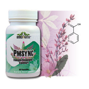 Inno-vita PMSync™ -- 60 veggie capsules - Female Regulate / Comfort