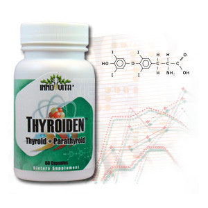 Inno-vita Thyroiden™ -- 60 veggie capsules - Thyroid and Parathyroid