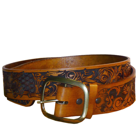 Honeycomber Leather Belt