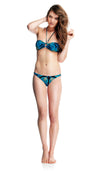 French Angelfish Bandeau Bikini