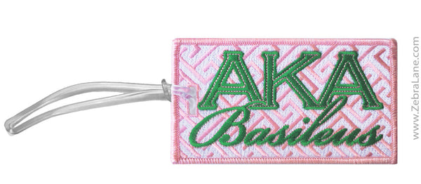 AKA Basileus Luggage Tag