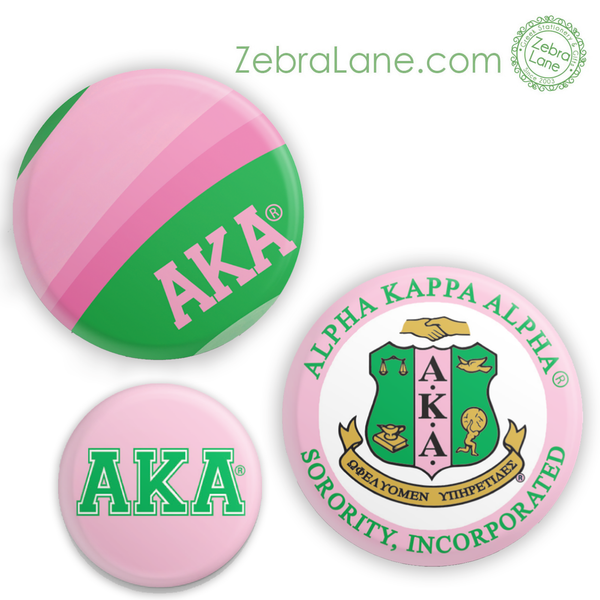 AKA Buttons - Set of 3