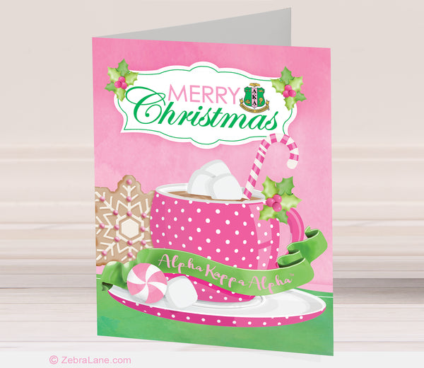 AKA Christmas Cocoa Cards