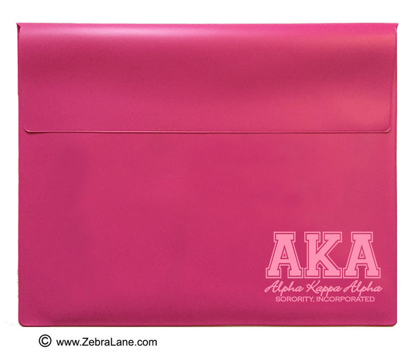 Alpha Kappa Alpha Pink Document Holder - Large
