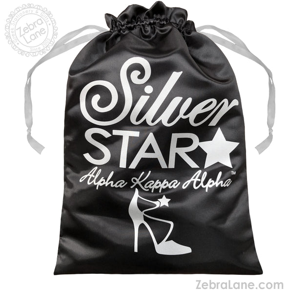 AKA Shoe Bag – Silver Star