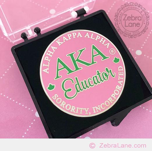 AKA Educator Pin