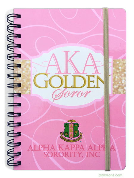 Alpha Kappa Alpha Golden Soror Journal