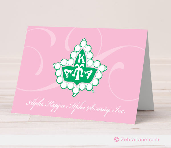 AKA Ivy Logo Note Cards