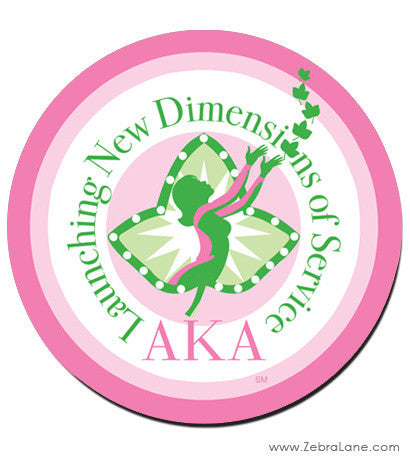 AKA Launching New Dimensions Mousepad - Round
