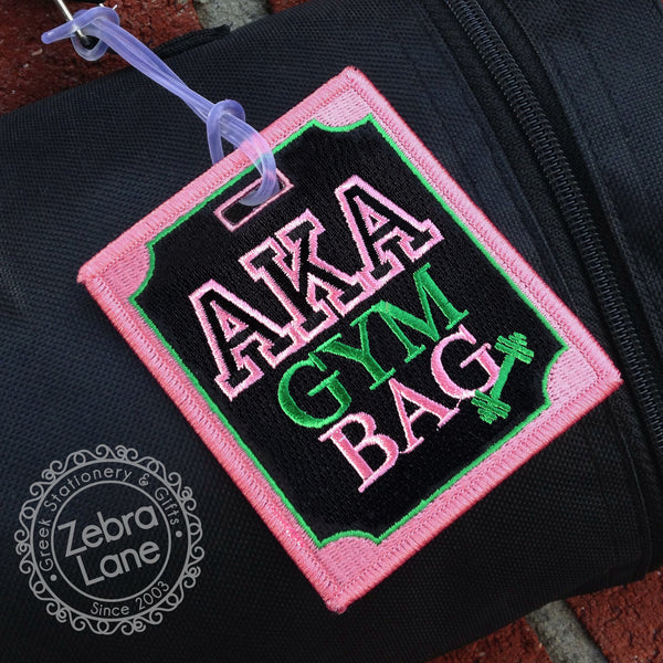 AKA Gym Bag Luggage Tag