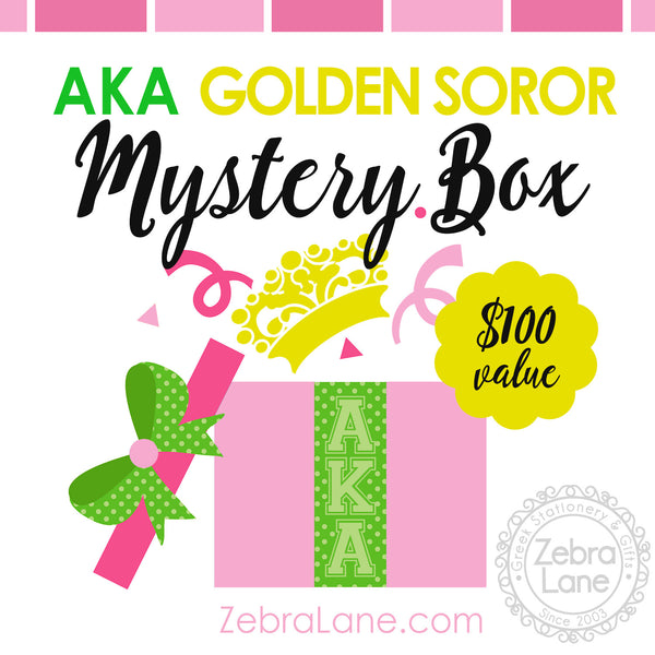 AKA Golden Soror Mystery Box
